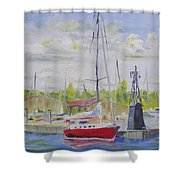 Antique Boat Museum-clayton Ny Shower Curtain