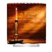 Antique Candlestick Shower Curtain