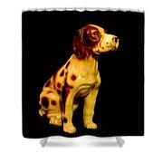 Antique Dog 3 Shower Curtain