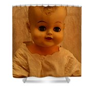 Antique Doll 1 Shower Curtain