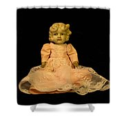 Antique Doll 2 Shower Curtain