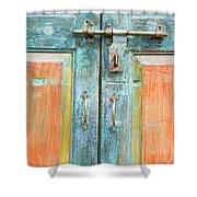 Antique Doors Shower Curtain