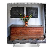 Antique French Chest Shower Curtain