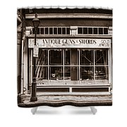Antique Guns And Swords - French Quarter Shower Curtain
