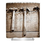 Antique Hammers Shower Curtain