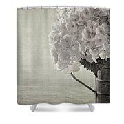 Antique Hydrangea Shower Curtain