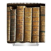 Antique Medical Books Shower Curtain