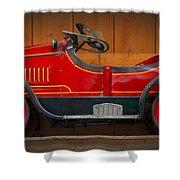 Antique Pedal Car 2 Shower Curtain