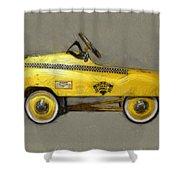 Antique Pedal Car Lll Shower Curtain
