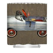 Antique Pedal Car Lv Shower Curtain