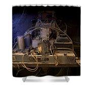 Antique Philco Radio Model 37 116 Shower Curtain