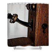 Antique Phone Shower Curtain