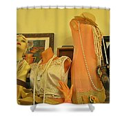 Antique Shop Display Shower Curtain
