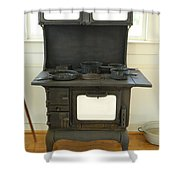 Antique Stove Number 2 Shower Curtain