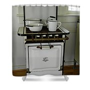 Antique Stove Number 3 Shower Curtain
