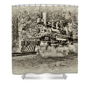 Antique Train Shower Curtain