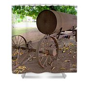 Antique Water Tank - No 1 Shower Curtain