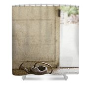 Antique Watering Shower Curtain