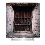Antique Window Shower Curtain