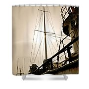 Antiqued Express Shower Curtain