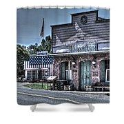 Antiques In Drytown Shower Curtain