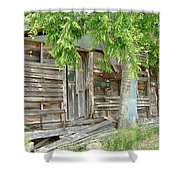 Antiques Sold Here Shower Curtain