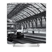 Antwerp Central Station II Shower Curtain