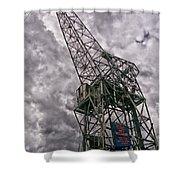 Antwerp Crane Shower Curtain