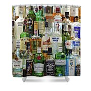 Anyone For A Drink Shower Curtain