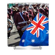 Anzac Day In Perth  Shower Curtain