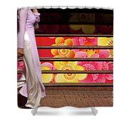 Ao Dai Shower Curtain