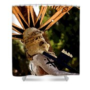 Apache Dancer Shower Curtain