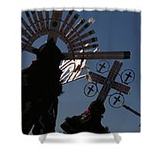 Apache Dancers Shower Curtain