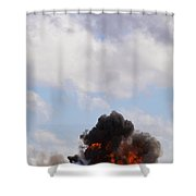 Apache Fire Power Shower Curtain