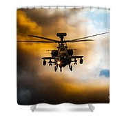 Apache Hunter  Shower Curtain