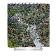 Apache Trail River View Shower Curtain