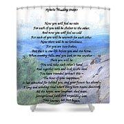 Apache Wedding Prayer Shower Curtain