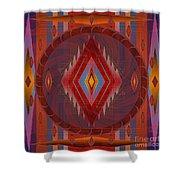 Apache Wind 2012 Shower Curtain