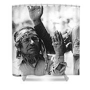 Apache's Signing 100th Anniversary Fort Apache Arizona 1970 Shower Curtain