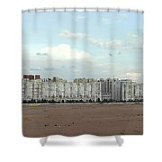 Apartment Blocks At The Waterfront, St Shower Curtain