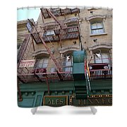 Apartment To Let At Finnegans Shower Curtain
