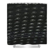 Apartments Of The Future Shower Curtain
