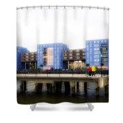 Apartments Rotterdam Shower Curtain