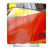 Apba Boat And Helmet 24291 Shower Curtain