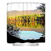 Aperture Shower Curtain