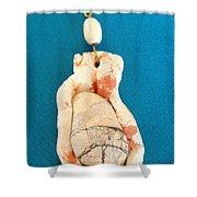 Aphrodite Earring Shower Curtain