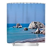 Aphrodite's Birthplace Shower Curtain
