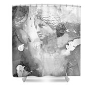 Aphrodite's First Love 2 - Guitar Art By Sharon Cummings Shower Curtain