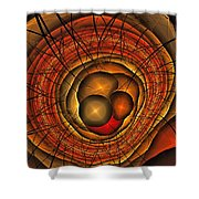 Apocolypse Growth Rings Shower Curtain
