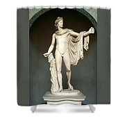 Apollo Belvedere Shower Curtain